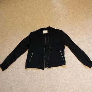 Bershka Black Thin Jacket